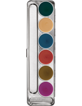 Supracolor Interferenz Palette 6 Farben - 20 ml - Duo-Chrome