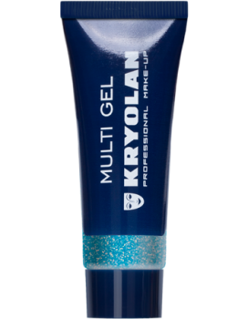 Multi Gel Glitter - Pastel Blue
