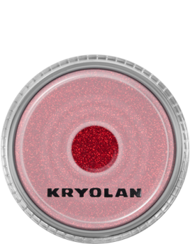Polyester Glimmer - 4 g - Bright Red