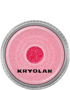 Polyester Glimmer - 4 g - Pastel Red