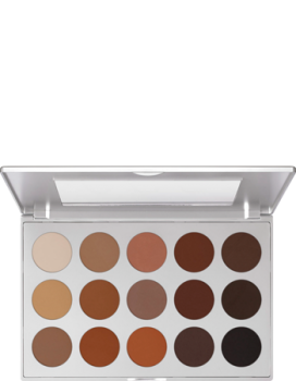 Eye Shadow Palette 15 Farben - 37,5 g - Smokey Brown