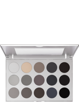 Eye Shadow Palette 15 Farben - 37,5 g - Smokey Grey