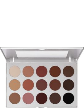 Eye Shadow Palette 15 Farben - 37,5 g - Smokey Rose