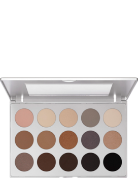 Eye Shadow Palette 15 Farben - 37,5 g - Smokey Sand