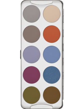 Eye Shadow Palette 10 Farben - 25 g - Fashion