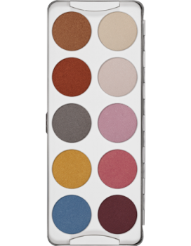 Eye Shadow Palette 10 Farben - 25 g - Iridescent