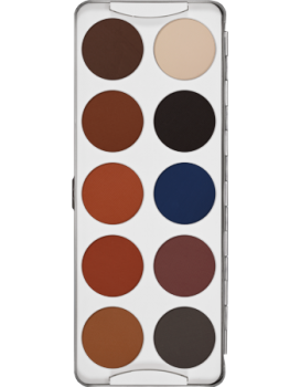 Eye Shadow Palette 10 Farben - 25 g - Shading