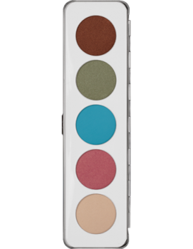 Eye Shadow Palette 5 Farben - 12,5 g - Iridescent