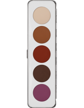 Eye Shadow Palette 5 Farben - 12,5 g - Matt