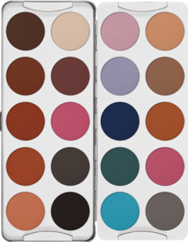 Eye Shadow Palette 20 Farben - 50 g - SF