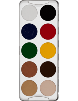 Body Illustration Make-up Color Palette 10 Farben - 20 g - 1