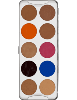 Body Illustration Make-up Color Palette 10 Farben - 20 g - 2