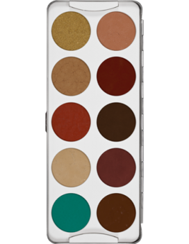 Body Illustration Make-up Color Palette 10 Farben - 20 g - 3