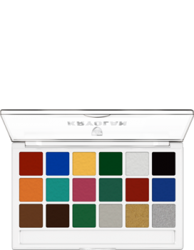 Body Illustration Make-up Color Palette 18 Farben - 16 g - Bright