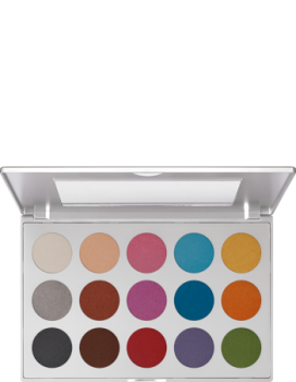 Viva Brilliant Color Palette - 15 Farben - 52 g