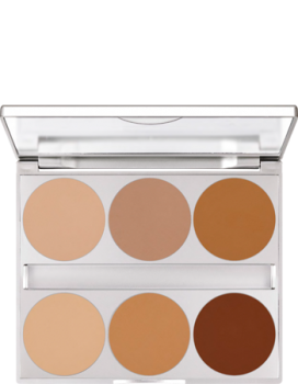 Dual Finish Palette 6 Farben - 10 g - Contouring