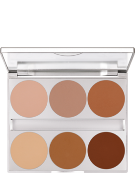 Dual Finish Palette 6 Farben - 10 g - Modelling