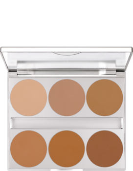 Dual Finish Palette 6 Farben - 10 g - Warm Complexion